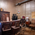 The bar in the Cell Block